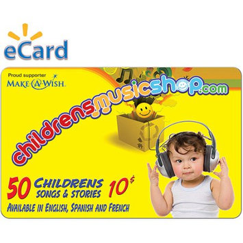 Incomm Childrens Music Shop $10 (Email Delivery)