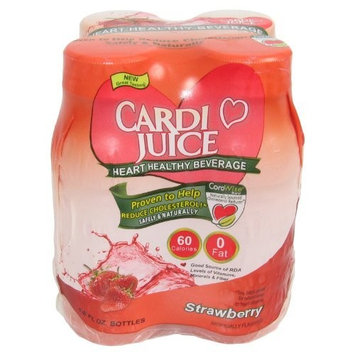 Cardio Juice, Strawberry 4 Pack