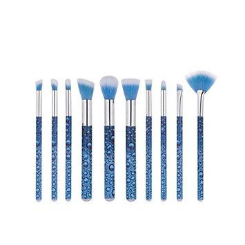 Professional Makeup Brush Set Makeup Brushes for Facial and Brow & Lip Makeup by TOPUNDER Z