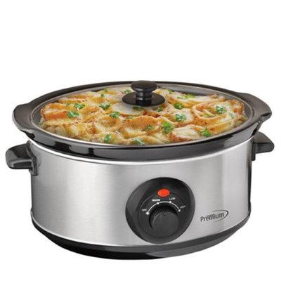 Premium 3.75 QT Slow Cooker