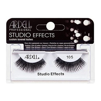 (3 Pack) ARDELL Studio Effects Custom Layered Lashes 105 Black : Beauty