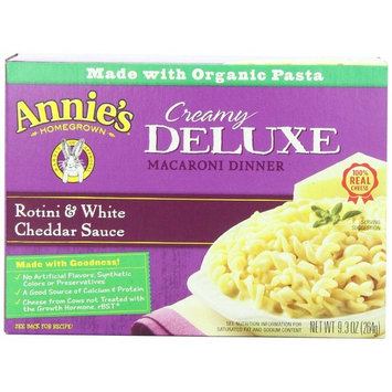 Annie's Homegrown Deluxe Rotini & White Cheddar 9.3-Ounce