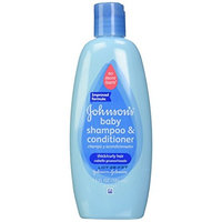 5Pk Johnson's No More Tangles Shampoo + Conditioner for Thick/Curly Hair 13oz Ea