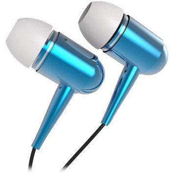 Tzumi Hi-fi Metallic Earbuds-blue