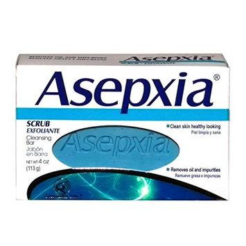 Asepxia Soap Scrub (blue) 3.52 oz - Jabon Exfoliante Azul