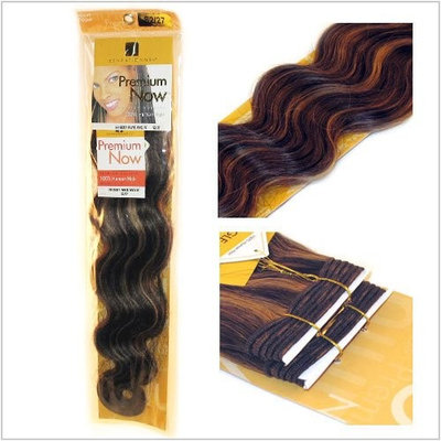 Sensationnel Premium Now Body Wave Weaving Weft Extension Hair 18 Inches