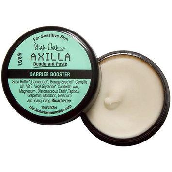 Black Chicken Remedies - Organic/Vegan Axilla Deodorant Paste (Baking Soda Free, MINI)