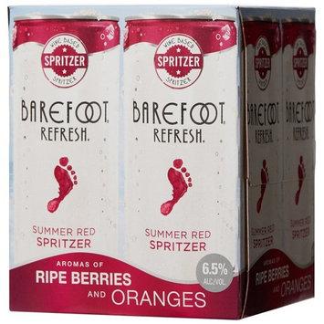 Barefoot Refresh Red Spritzer, 4 pack, 8.45 fl oz