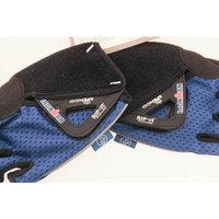 SPENCO IRONMAN RIP-IT X-Small Cycling Blue Road Bike Half Finger Gloves