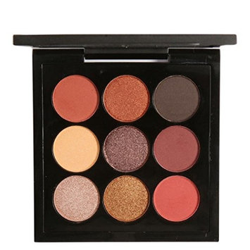Bestpriceam 9 Colors Smoky Eye Shadow Retro Eyeshadow Makeup Palettes (E)