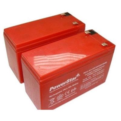 PowerStar PS12-9-HT-2Pack4 High Temperature Ub1290 12V 9Ah 6Fm9 Wheelchair Scooter Sla Agm Battery