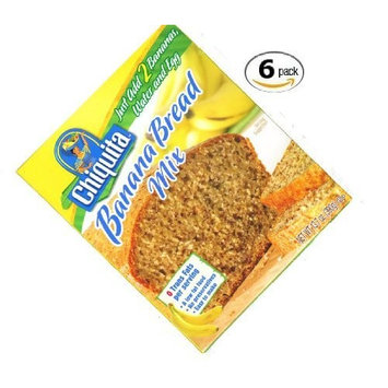 Concord Foods Chiquita Banana Bread Mix 13.7oz (VALUE pack of 6 Boxes)