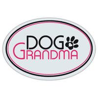 Oval Shaped Pet Magnets: Dog Grandma (Dogs)   Cars, Trucks, Refrigerators