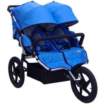 Tike Tech All-Terrain X3 Sport Double Stroller - Pacific Blue