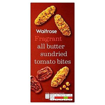 All Butter Sundried Tomato Bites Waitrose 100g (Pack of 4)