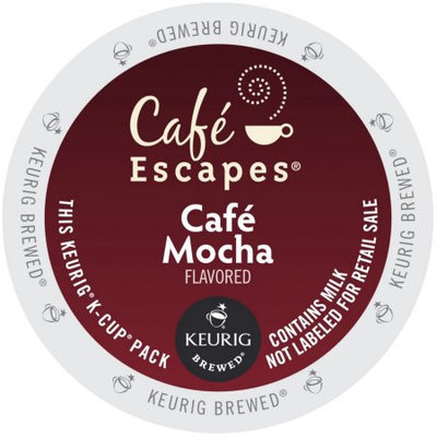 Cafe Escapes Cafe Mocha K-Cups for Keurig Brewers (Pack of 96)
