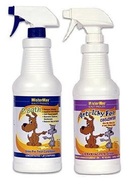 Mister Max Anti Icky Poo 'Unscented' Odor & P-Bath Pre-Treater Combo Quarts