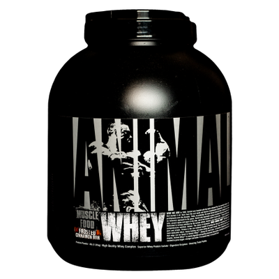 Universal Nutrition Animal Whey - 4lbs Frosted Cinnamon Bun