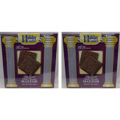 Passover Dark Chocolate Covered Matzo, 7 oz, 2-Pack