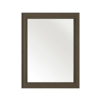 Cutler Kitchen and Bath 30 in. L x 23 in. W Framed Wall Mirror in Spring Blossom