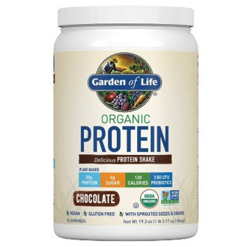 Garden of Life Organic Protein Powder - Chocolate - 19.2oz