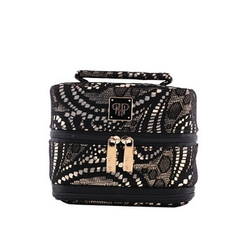 PurseN Tiara Small Weekender Jewelry Case (Lace Seduction)