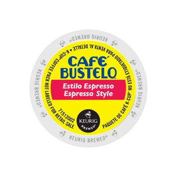 Keurig Green Mountain Cafe Bustelo Espresso Style, K-Cup Portion pack for Keurig Brewers, 96 Count