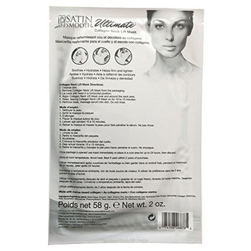 Satin Smooth Ultimate Collagen Neck Lift Mask 1 ct