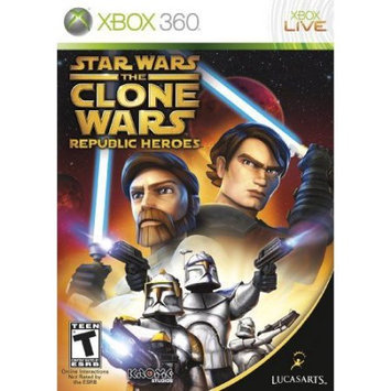 Lucasarts Entertainment Company LucasArts Star Wars the Clone Wars: Republic Heroes (Xbox 360)