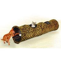 Jobar International Inc Pet Parade CAT PLAY TUNNEL Leopard