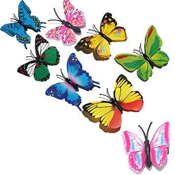 Fascigirl 8PCS Hair Clips Creative Decorative Hair Butterfly Barrettes Hair Butterfly Clips Jewelry Barrettes