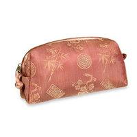 Cosmetic Bag - Silk Jacquard (Peachrose)