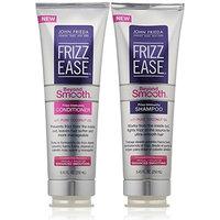 John Frieda Frizz Ease Beyond Smooth Bundle: Frizz Immunity Shampoo & Conditioner, 8.45 Ounce Each