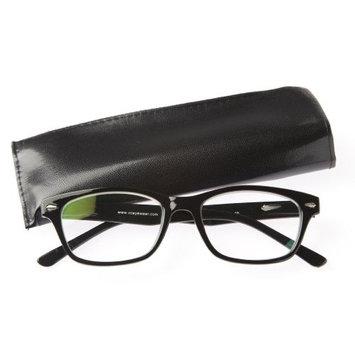 Dual Power Computer Reading Glasses Black Frame (2.25)