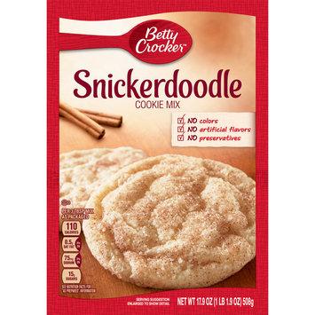 Betty Crocker Snickerdoodle Cookie Mix, 17.9 oz