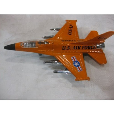 diecast 1 144 Die Cast F-16 Sky Fighter Edition in a 1:144 Scale, Has Pull Back Action & Are Available in Various Shades of Camo, Orange, Blue & Red While Supplies Last By Gingell