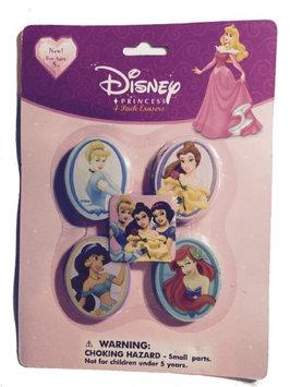 Desigual Disney Princess Eraser 4 Pack - Kids Eraser Pack