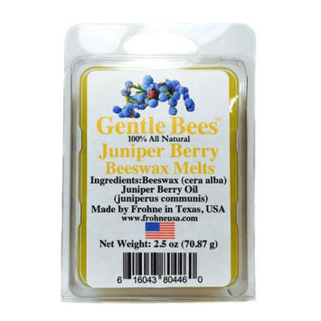 Gentle Bees 616043804460 Juniper Berry Beeswax Melts