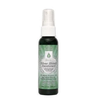Silver Shield Deodorant - Original Formula - Spray-On Version, All Natural Colloidal Silver Deodorant, 2 oz.