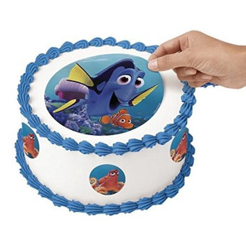 Wilton Finding Dory Peel & Place Sugar Sheets Cupcake Cake Toppers Disney Pixar