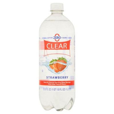 Sam's Choice Clear American Strawberry Sparkling Water, 33.8 fl oz