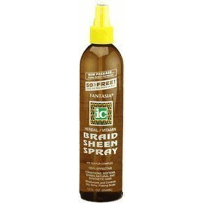 Fantasia IC Herbal/Vitamin Braid Sheen Spray, 12 oz