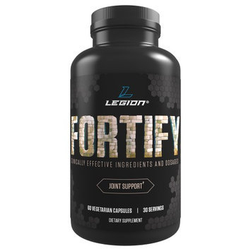 Legion Athletics LEGION Fortify - Best Joint Pain Relief Supplement, Natural Remedies for Joint Pain, Prevent Painful