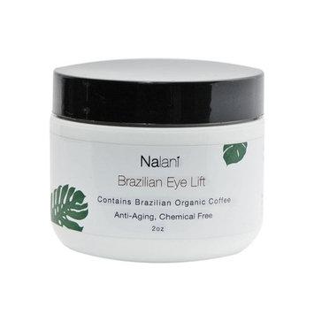 Nalani Brazilian Eye Lift Cream, All Natural, Organic, Eliminate Wrinkles w/ Day & Night Cream w/ Brazilian Coffee, Banana Oil, Mango Butter, Olive, Argan, Aloe, Shea Butter, Avocado, Sunflower, 2oz