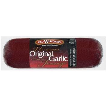 Wisconsin Summer Sausage, Garlic, 8-Ounce Package [Garlic]