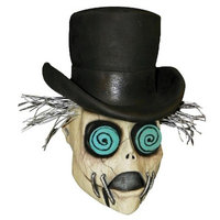 The Conductor Latex Mask - One Size Fits Most
