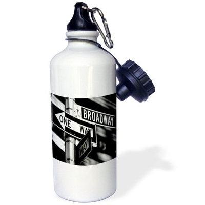 3dRose Broadway, Sports Water Bottle, 21oz