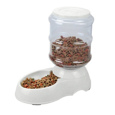 Pet Supplies Dog Automatic Dispenser Water Feeder Food Feeder Feeding Bowls For Dogs And Cats 3.5L Large Capacity