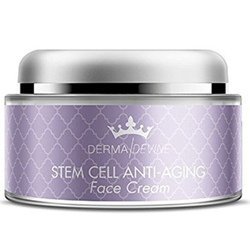 Derma Devine- Anti-Aging Face Cream By Derma Devine- Premium Anti-Aging Formula- Deeply Hydrate Skin to Fill out Wrinkles and Lines- Evens Complexion