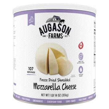 Augason Farms Gluten Free Freeze Dried Shredded Mozzarella Cheese - 30.19oz